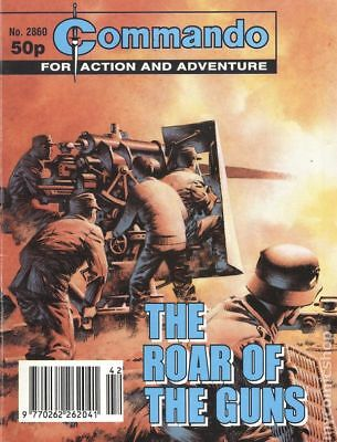 Commando for Action and Adventure (U.K.) #2860 1995 VF Stock Image