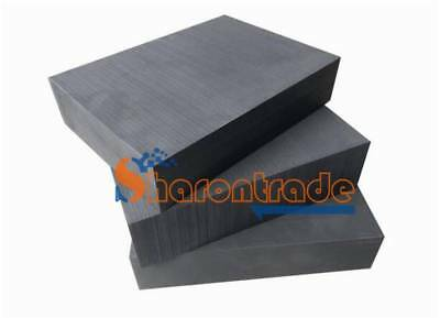 1PC Pure Graphite Block Electrode Rectangle Plate Blank Sheet 5x 100*100*10mm