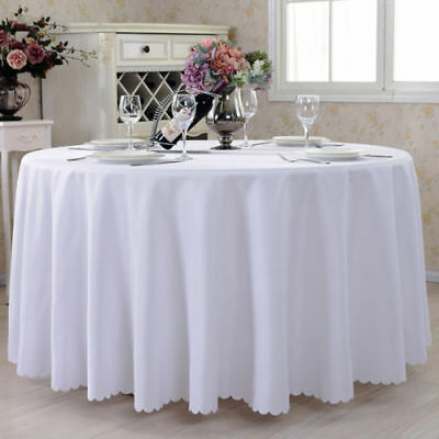 able Cloth Cover Table cloth Tablecovers Round Plastic Lace Party Weedin