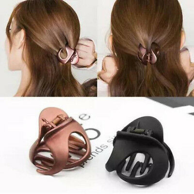 Women Hair Claws Styling Plastic Clip Claw Clamp Barrette Crab Clamp Hairpin