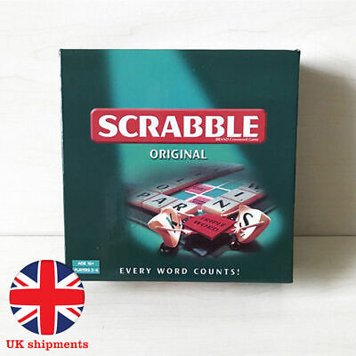 Family Original Scrabble Game Kid Adult Education Learning Toy Party Game Boards