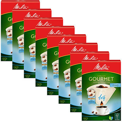 MELITTA Genuine Gourmet Mild 1x4 Type Paper White Coffee Filters x 640