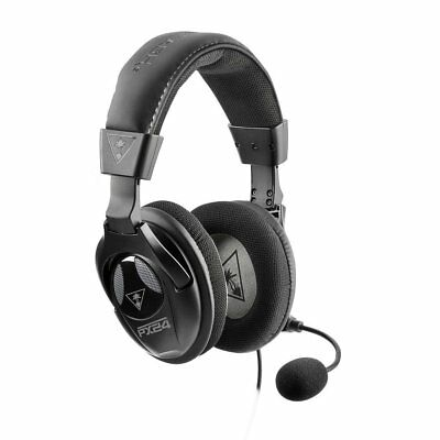 Turtle Beach PX24 Amplified Stereo Gaming Headset in Black
