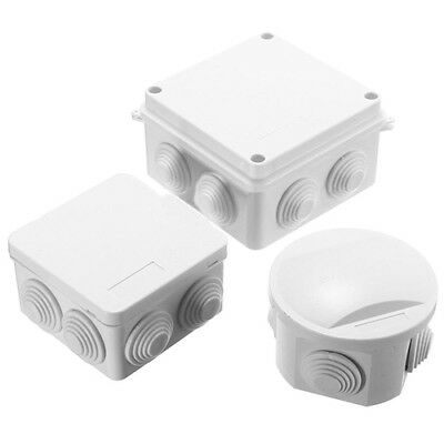 Weatherproof Outdoor Camera Junction Box Enclosure Ip55 Terminal Cable Case Offe
