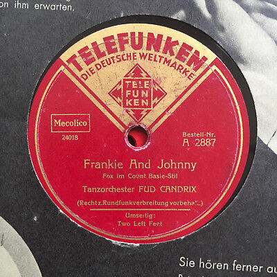 "FUD CANDRIX ""Frankie And Johnny"" FOXTROT 1938"