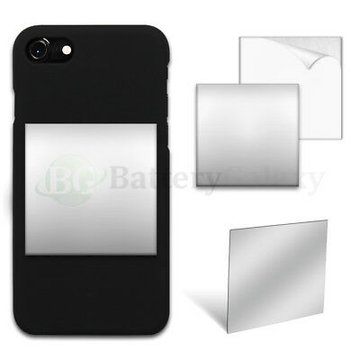 "25X Selfie Small Mirror Square 2.35"" Anti-Scratch for Samsung Galaxy J7 Prime/V"