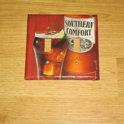Vintage Style Southern Comfort 2 Hole Light Switch Cover Plate