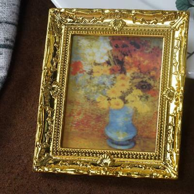 1:12 Dollhouse Miniature Framed Wall Painting Picture Home Room Decoration