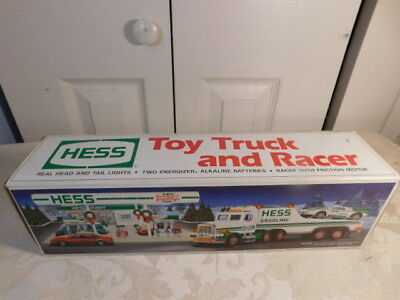 1991 Hess Toy Truck and Racer - New in Box NIB