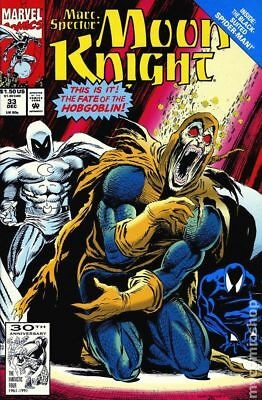Marc Spector Moon Knight #33 1991 FN Stock Image
