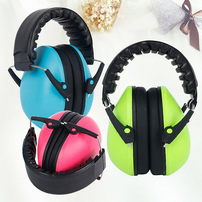 Kids Children New Care Hearing Protection Ear Muffs Anti Noise Defenders Safety