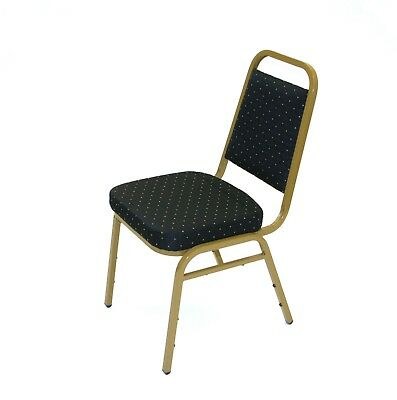 CY-062 Black & Gold Banquet Chairs, Banqueting Chairs, Wedding Chairs