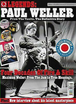 Q LEGENDS MAGAZINE - PAUL WELLER (NEW) *Post Included to UK/Europe/USA/Canada