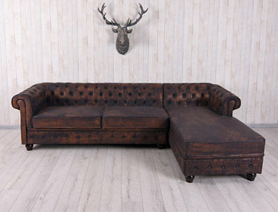 xxl garniture de canap dangle chesterfield intrieur la maison rembourr
