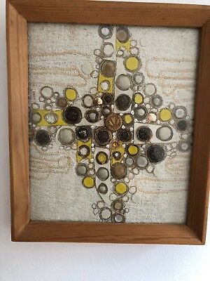 Original 1970s Abstract Collage