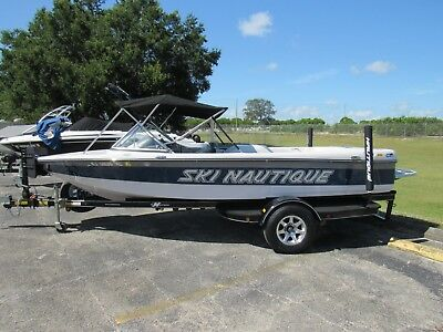 2007 Correct Craft 196 Ski Nautique Low Hours Very Clean Boat