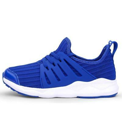Youth Boy's Sports Sneakers Girls Classic Low Top Tennis Shoes Lace Up Kids Blue