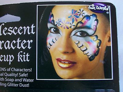 Halloween Pearlescent Character Makeup Kit Costume Theater Face Paint
