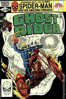Ghost Rider (1st Series) #63 1981 FN Stock Image