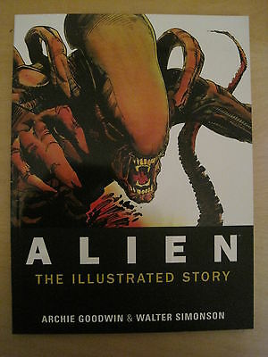 ALIEN : the ILLUSTRATED STORY by GOODWIN & SIMONSON.COFFEE TABLE size TITAN.2012
