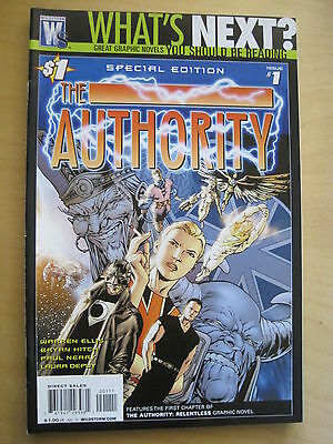 AFTER  WATCHMEN .. WHAT'S NEXT? Special Edition The AUTHORITY 1 by ELLIS & HITCH