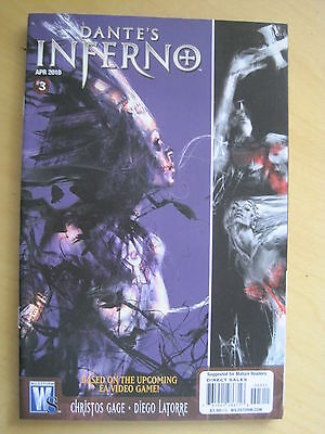 DANTE'S INFERNO  3  by GAGE & LATORRE. BASED ON THE VIDEO GAME. WILDSTORM. 2010
