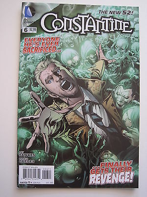 CONSTANTINE 6. 1st PRINT. By  FAWKES & GUEDES. HELLBLAZER. DC The NEW 52. 2013