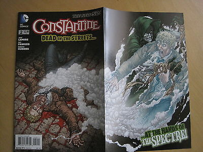 CONSTANTINE 2. 1st PRINT,GATEFOLD. FAWKES,LEMIRE. HELLBLAZER. DC The NEW 52.2012