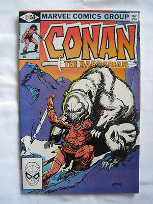 CONAN  127.  By DeMATEIS & GIL KANE. CLASSIC ! MARVEL. 1981