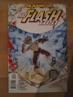 Flashpoint. Kid Flash Lost  2.  It All Changed Here !  Dc   2011