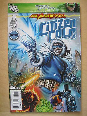FLASHPOINT : CITIZEN COLD 1 by KOLINS. The FLASH.  IT ALL CHANGED HERE ! DC.2011
