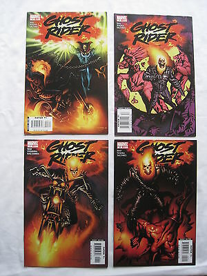 Ghost Rider #s 1,2,3,4 :2006 series by WAY, TEXEIRA & SALTARES. MARVEL.2006