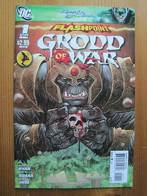 FLASHPOINT : GRODD OF WAR 1 ONE-SHOT. The FLASH.  IT ALL CHANGES HERE !.DC 2011