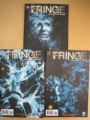 FRINGE : TALES FROM THE FRINGE #s 4,5,6 of the 6 issue series. WILDSTORM.2010