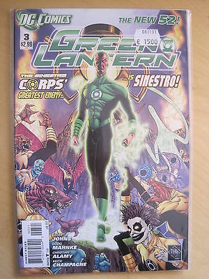 GREEN  LANTERN 3  by Geoff Johns & Mahnke & ALAMY. DC THE NEW 52. 2012