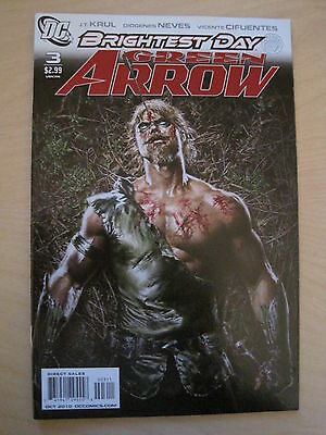 GREEN ARROW 3 : BRIGHTEST DAY by Krul & Neves. GREAT COVER ! DC. 2010