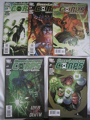 GREEN LANTERN CORPS RECHARGE # 1,2,3,4,5 of the 2005 DC SERIES by JOHNS, GIBBONS