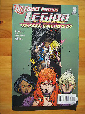 LEGION of SUPER HEROES - 100 PAGE GIANT SQUARE BOUND ONE-SHOT. COIPEL. DC 2011