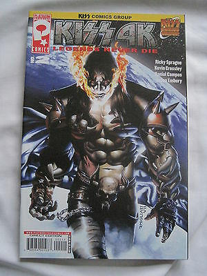 KISS : 4K # 2 by SPRAGUE,CROSSLEY,CAMPOS. GENE SIMMONS. KISS COMICS GROUP. 2007
