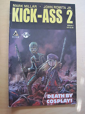 KICK - ASS  2  #  5  by MARK MILLAR, JOHN ROMITA JR. ICON.2011