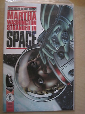 MARTHA WASHINGTON STRANDED IN SPACE ONE-SHOT by FRANK MILLER & D.GIBBONS.DH.1995