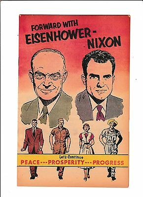 Forward With Eisenhower-Nixon    1956    Not Listed In Guide