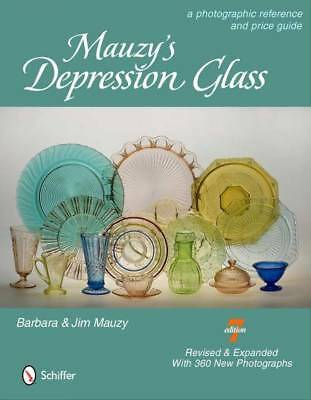 Mauzys Depression Glass Collector Price Guide w Fire-King & 1940s-50s Glass