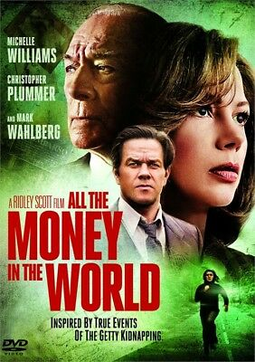 All The Money In The World (DVD, 2018)