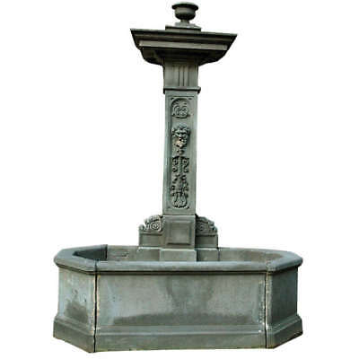 18th Century French Volvic Stone Fountain