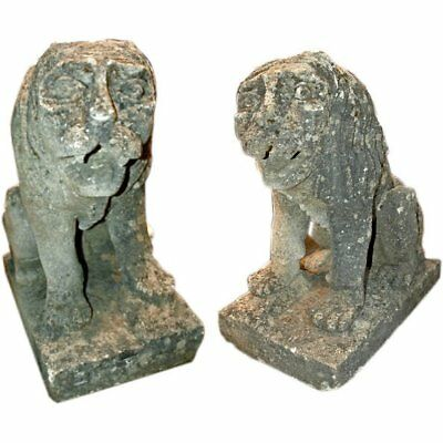 Mythological Stone Lions from the 18th Century