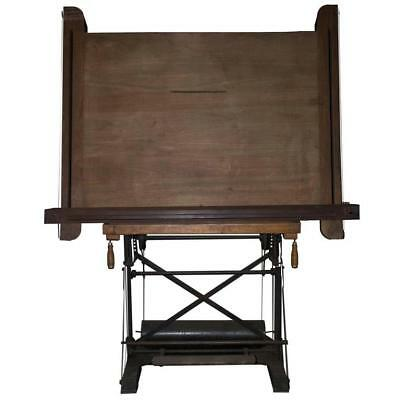 Superieur Antique French Drafting Table