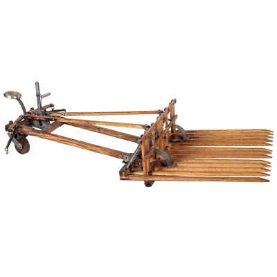 Antique Horse Drawn Rake Model