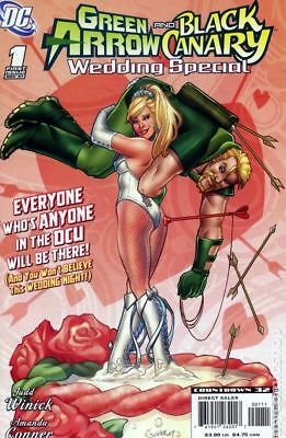Green Arrow Black Canary Wedding Special 1A 2007 FN Stock Image