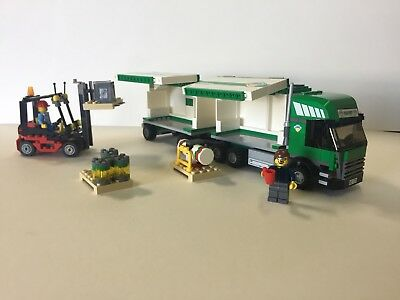 Lego City Transport Truck And Forklift 7733 Wmini Figuras 5999